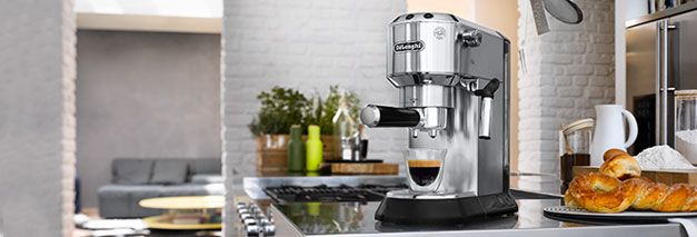 A Delonghi coffee machine
