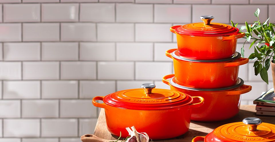 Signature cast iron Le Creuset Pans