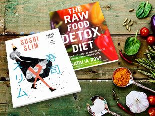 Two Health and specialist cookbooks