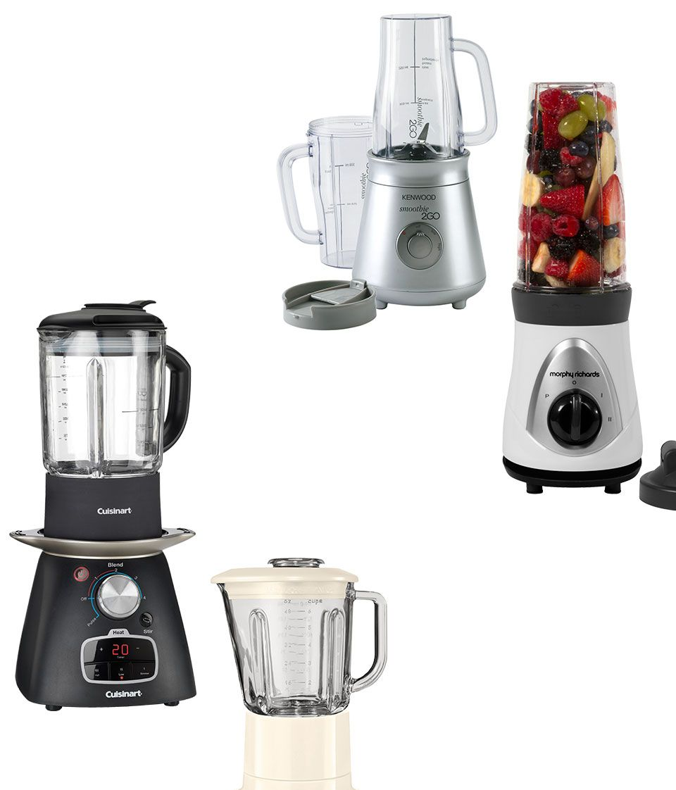 Blenders smoothie makers and juicers