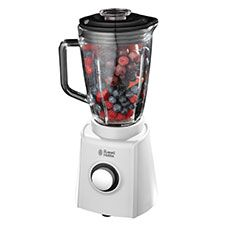 A Blender filled with fruit