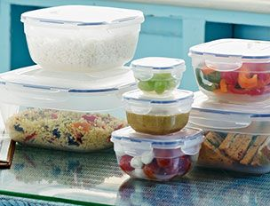 A selection of Jars with food inside them