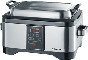 A Severin stainless steel sous vide cooker