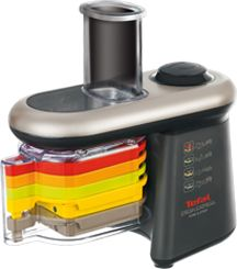 A Tefal black fresh express cube & stick chopper
