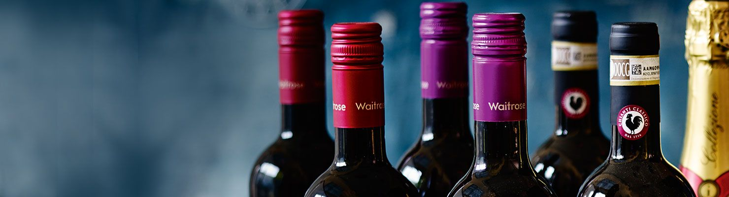Bottles of richest reds