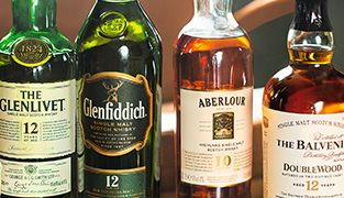 A selection of Top-notch Whisky