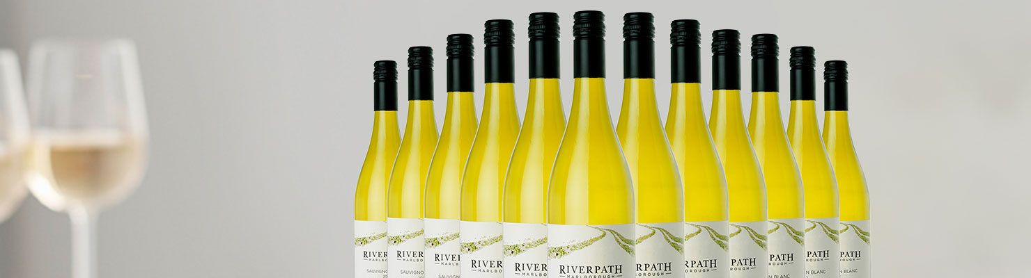 Bottles from our Scintillating Sauvignon case