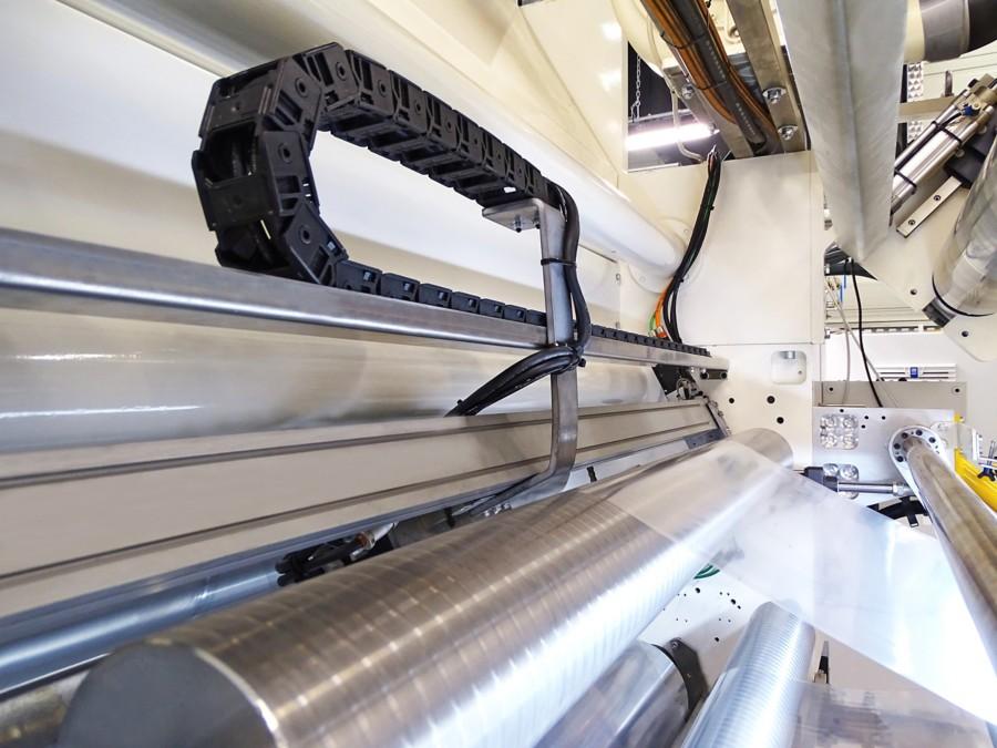 look inside a flexible laminates coater working with Henkel's Lioscan equipment solution