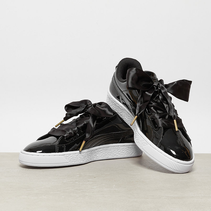 puma basketball heart schwarz