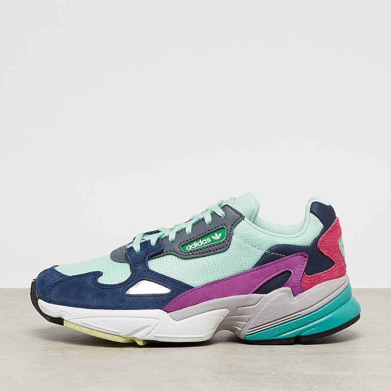 uk availability 02715 1870a adidas Falcon W clear mintcollegiate navy  ONYGO