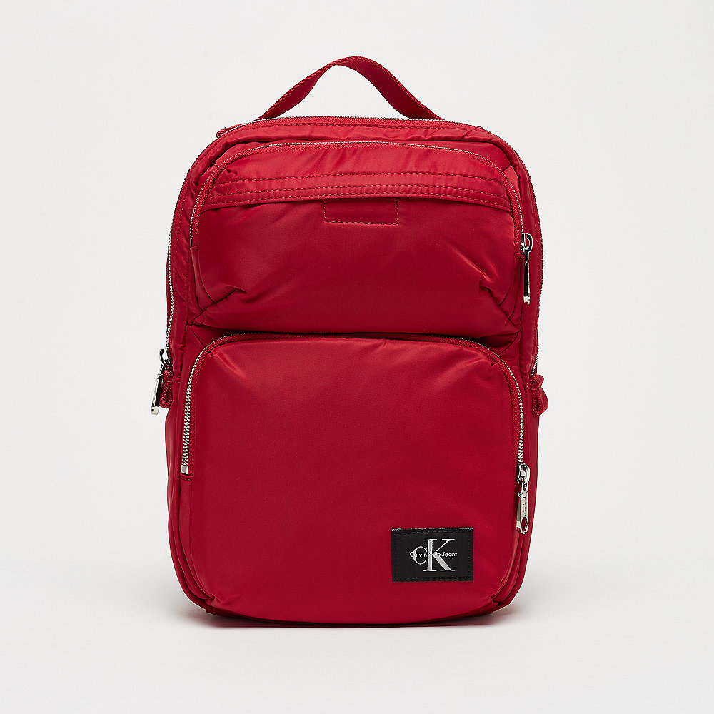 CK Pilot Twill Square Backpack 30 scarlett Calvin Klein brBwZI1NXg
