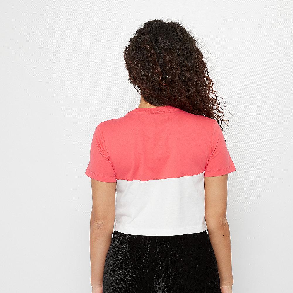 NIKE NSW Heritage T-Shirt white/ember glow/white