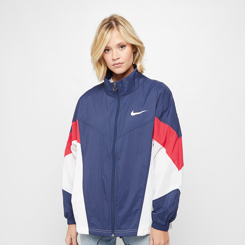 NIKE NSW WR Jacket SSNL blue void/university red/white/white