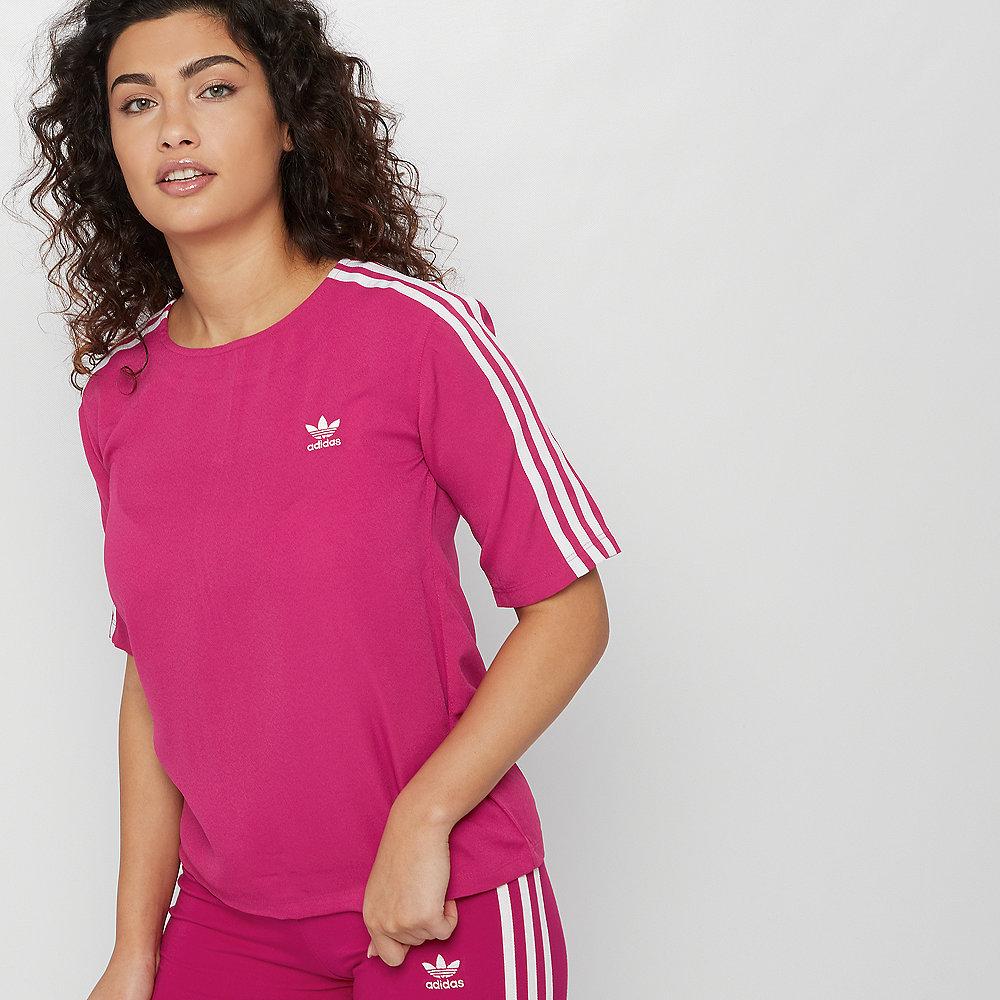 adidas 3 Stripes Tee pride pink