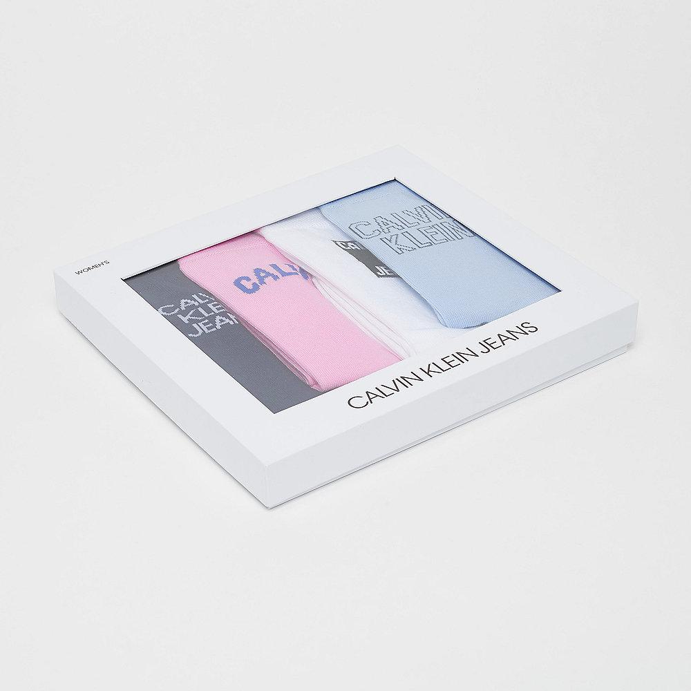 Calvin Klein 4 pr Gift Jeans Logo Crew gift box multi