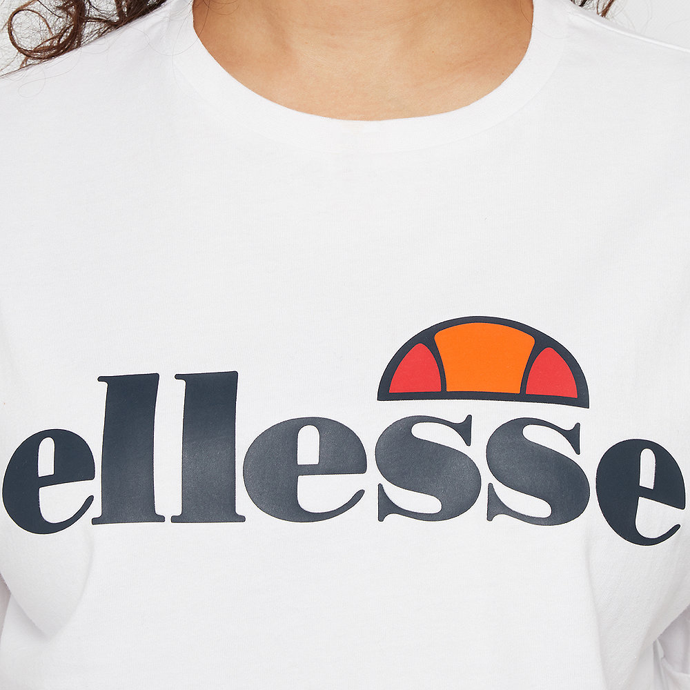 Ellesse Alberta Cropped Shirt white