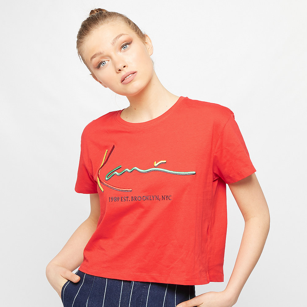 Karl Kani Signature T-Shirt red