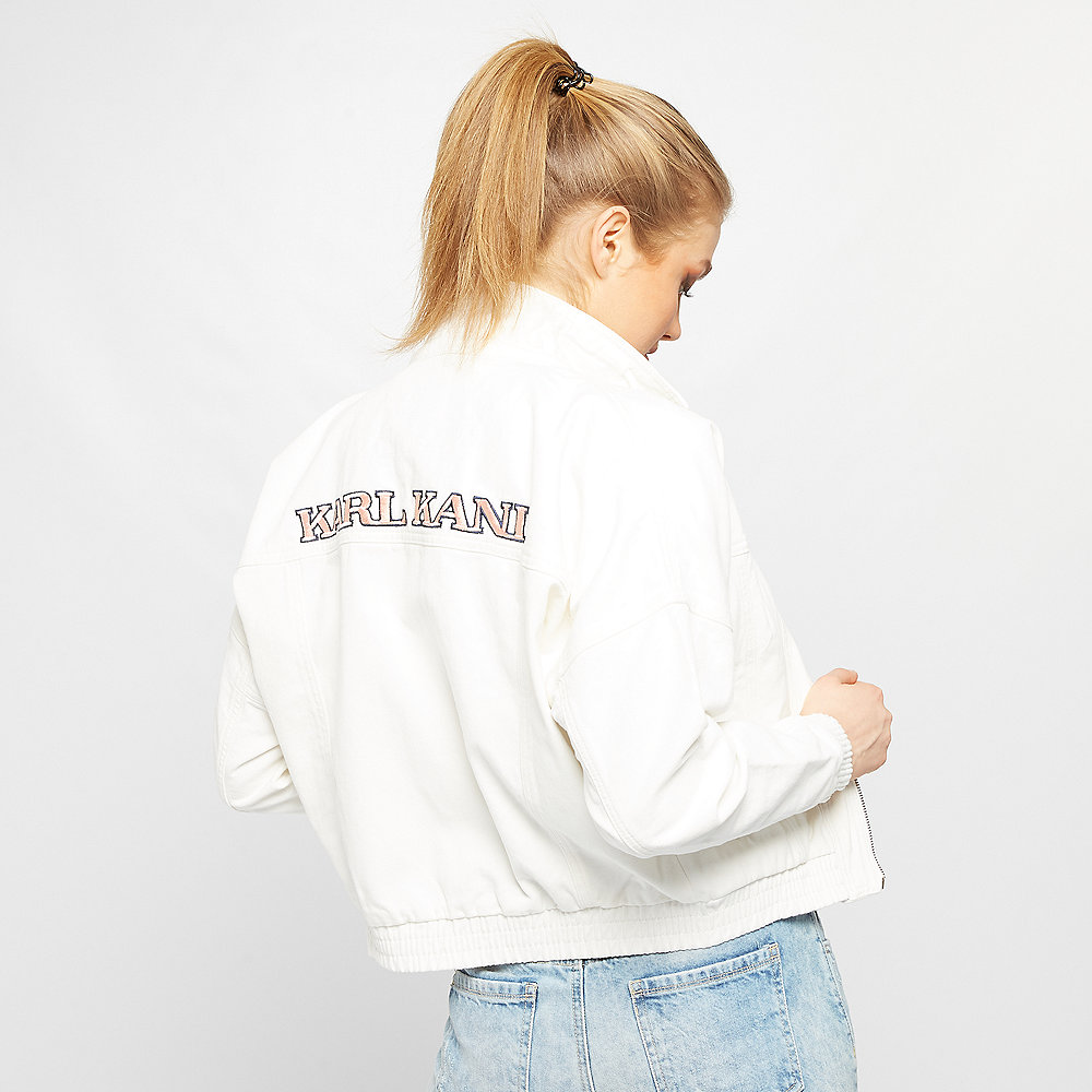 Karl Kani Retro Denim Jacket white