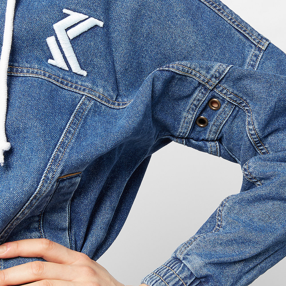 Karl Kani Retro Denim Jacket blue