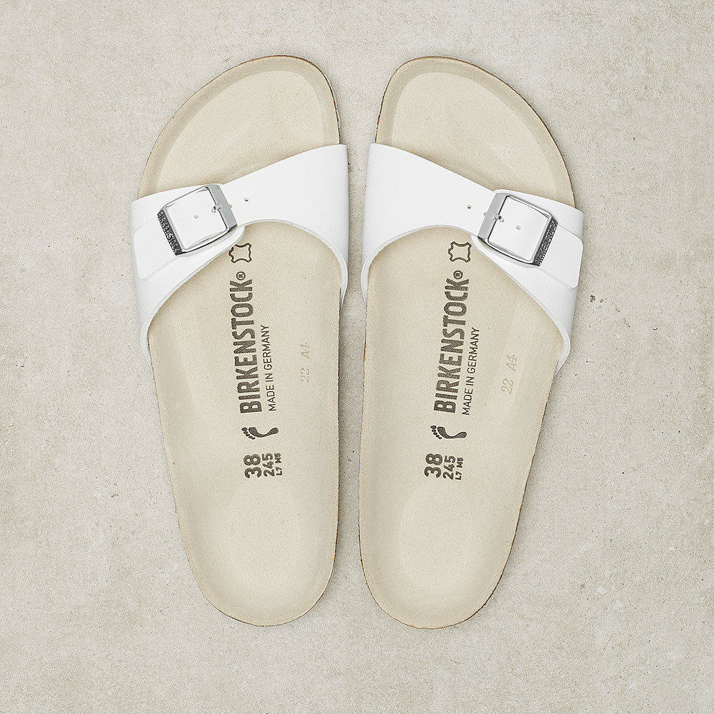 Birkenstock Madrid Birko-Flor white