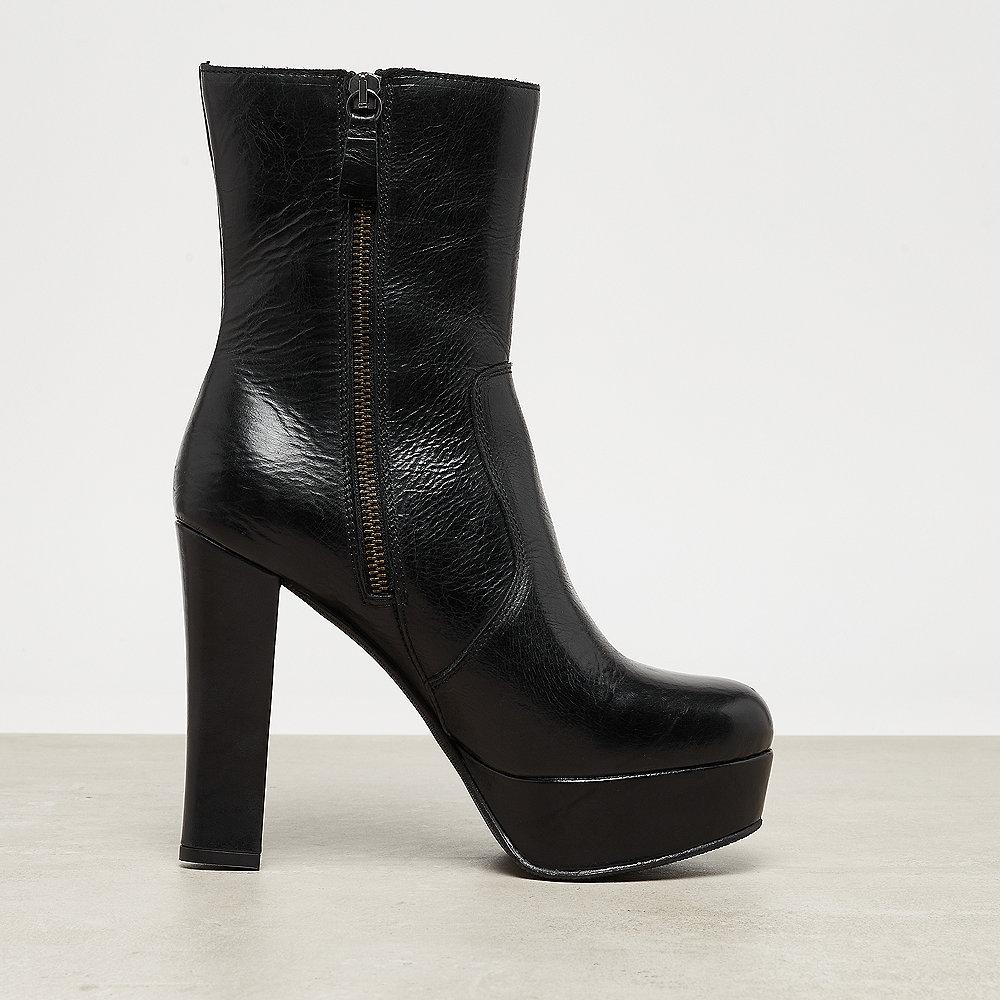 Buffalo London Gold Fusion Ankle Boot Plateau black