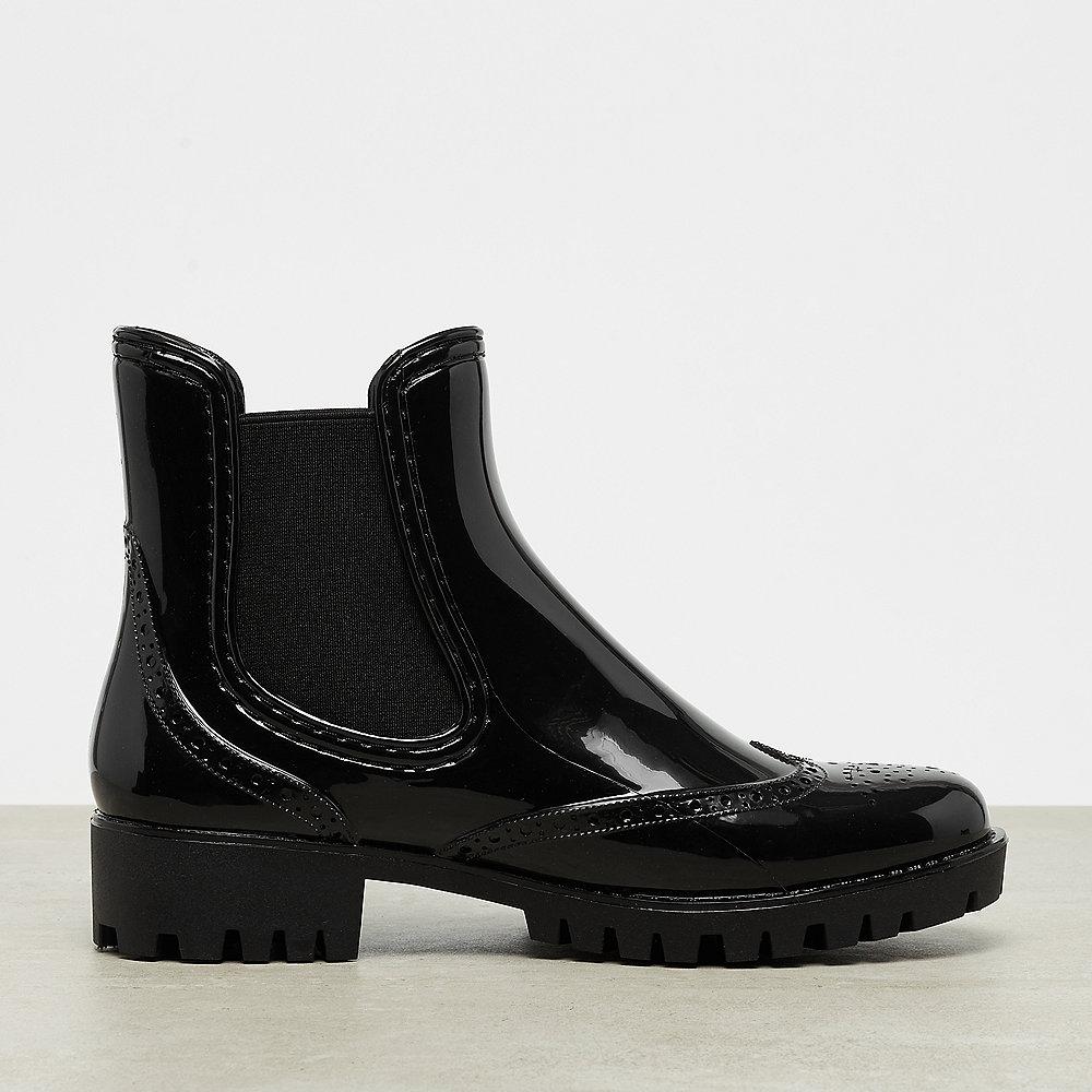 Buffalo Rubber Boot Chelsea Platform black