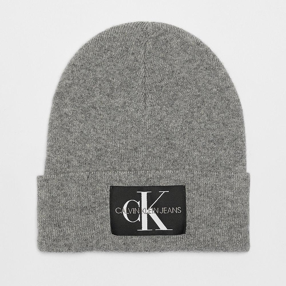 Calvin Klein Basic Women Knitted Beanie mid grey heather