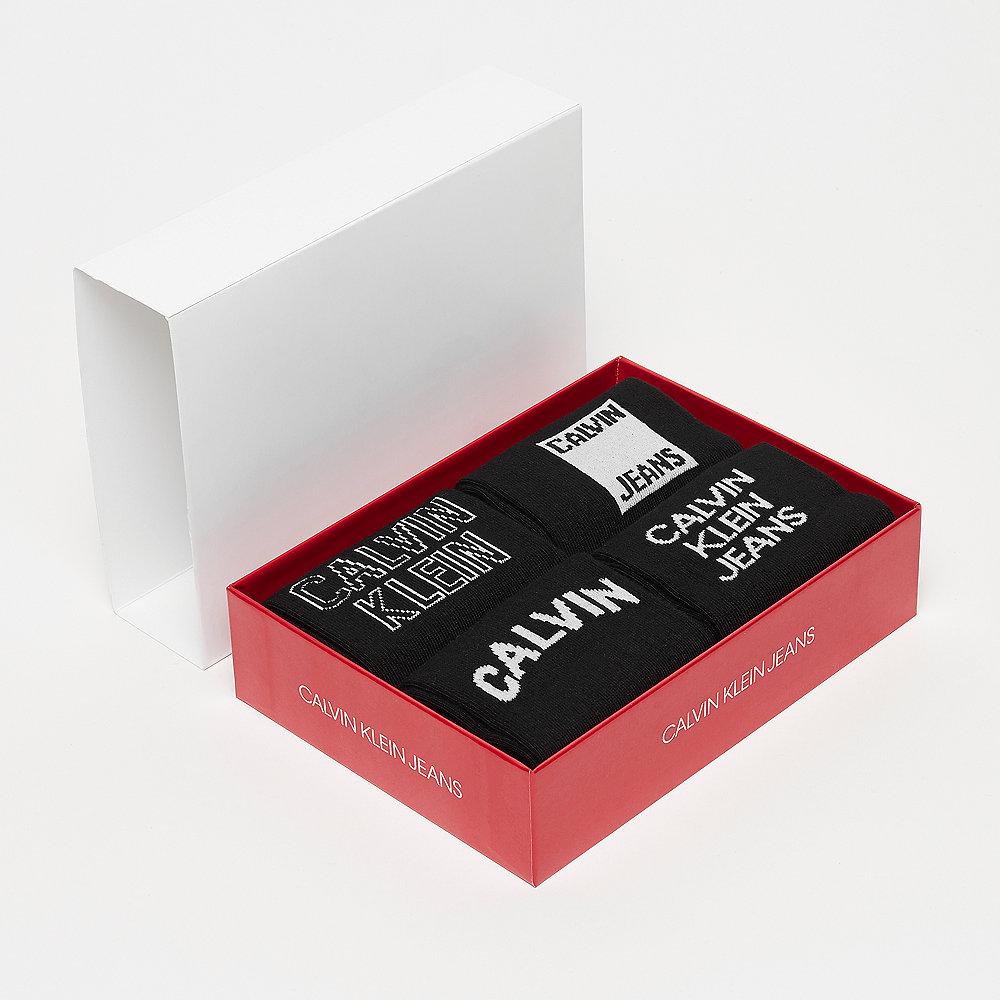 Calvin Klein 4 Pair Jeans Logo Gift black
