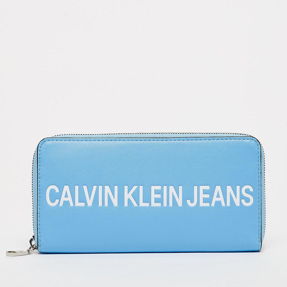 Calvin Klein Large Ziparound Blue Portemonnaie Onygo