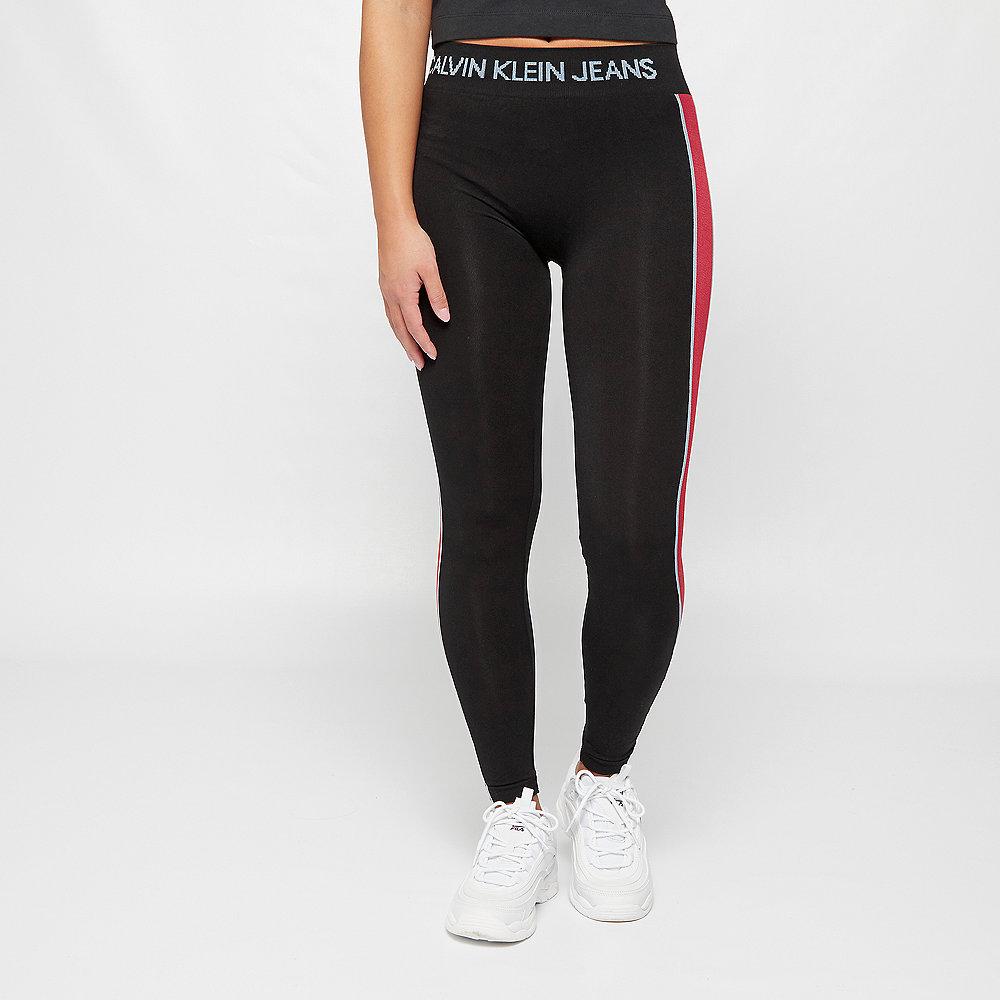 Calvin Klein Leggings side stripe black