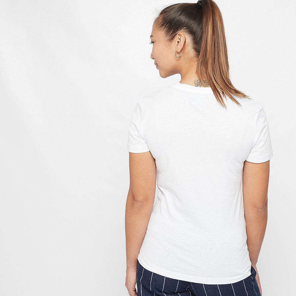 Calvin Klein Monogram Slim T-Shirt Flock bright white