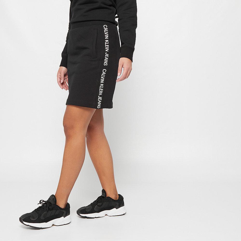 Calvin Klein Track Side Logo Skirt black