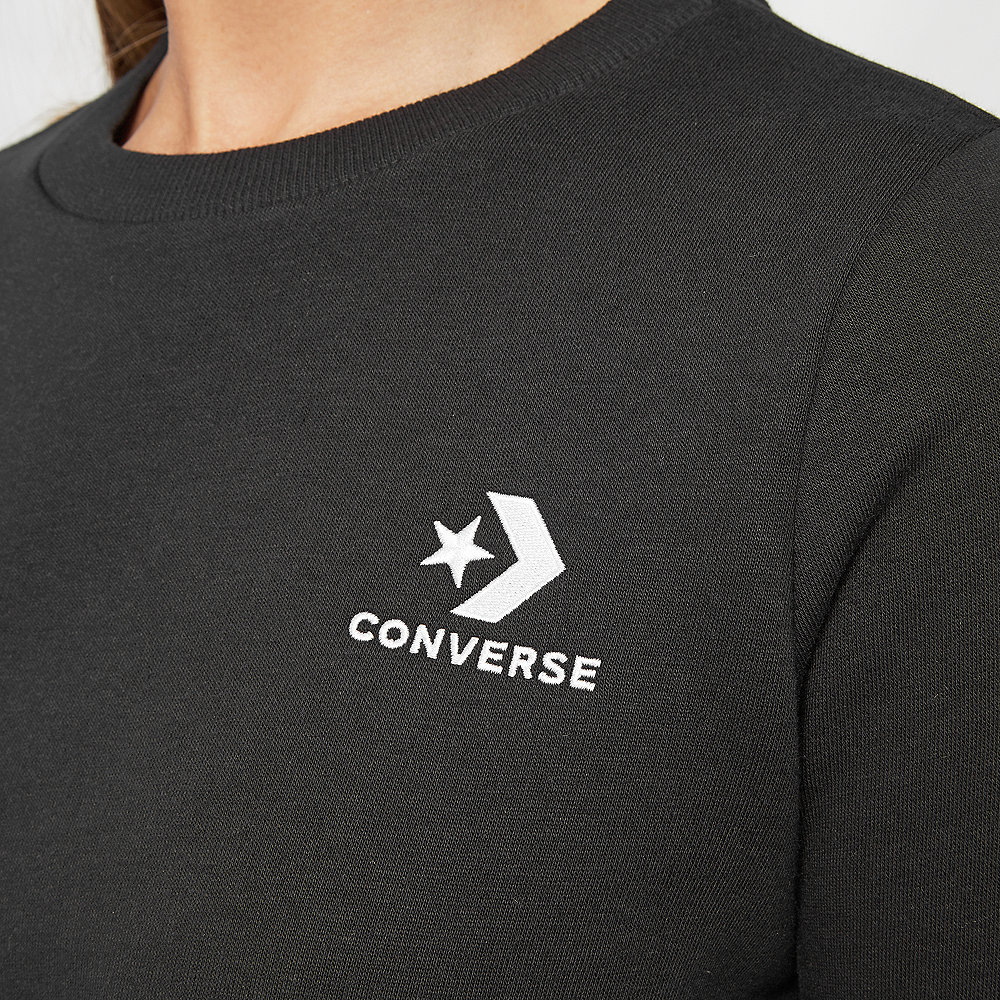 Converse Star Chevron EMB Crew black