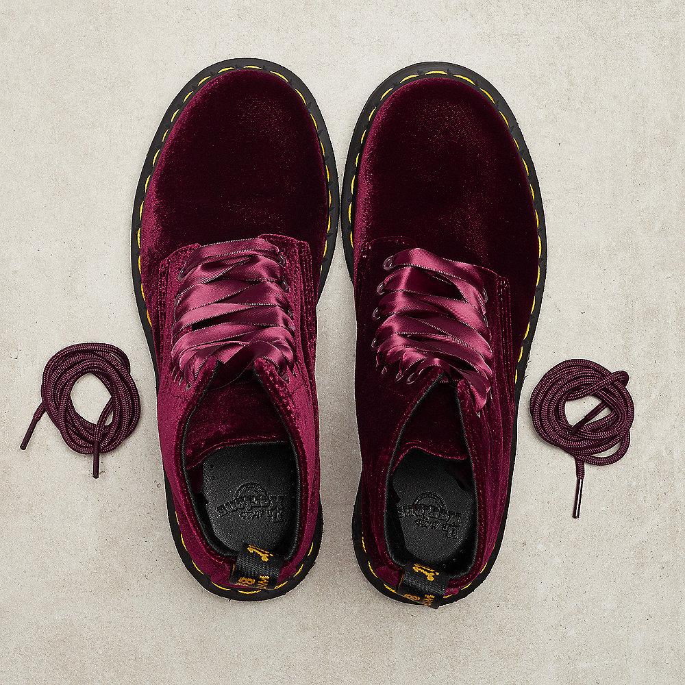 Dr. Martens 1460 Pascal cherry red velvet