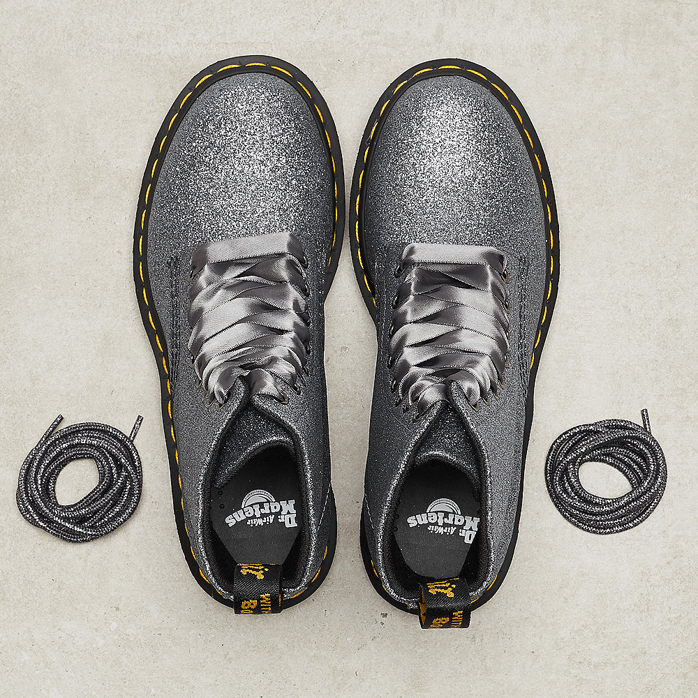 Dr. Martens 1460 Pascal pewter glitter