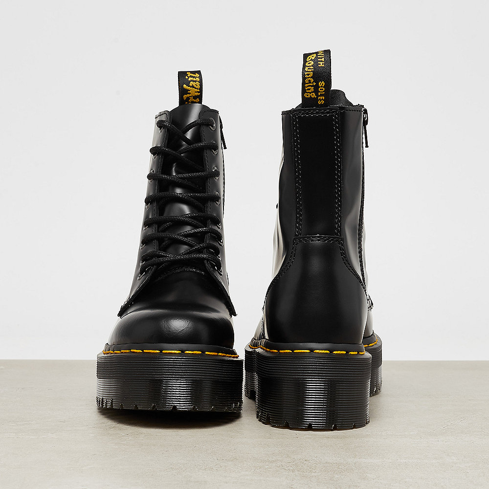 Dr. Martens Jadon Black Polished Smooth