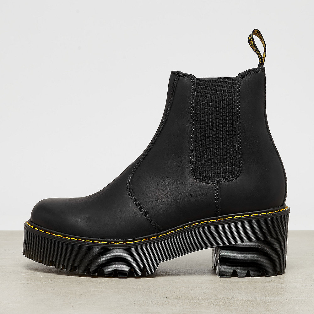 4e5bfa06ad590d Dr. Martens Rometty Chelsea Blk Wyoming Bootie