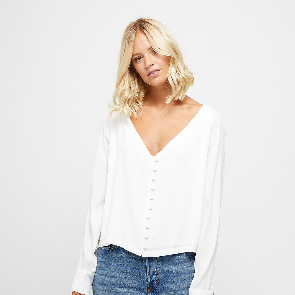 Edited Marcia Blouse white