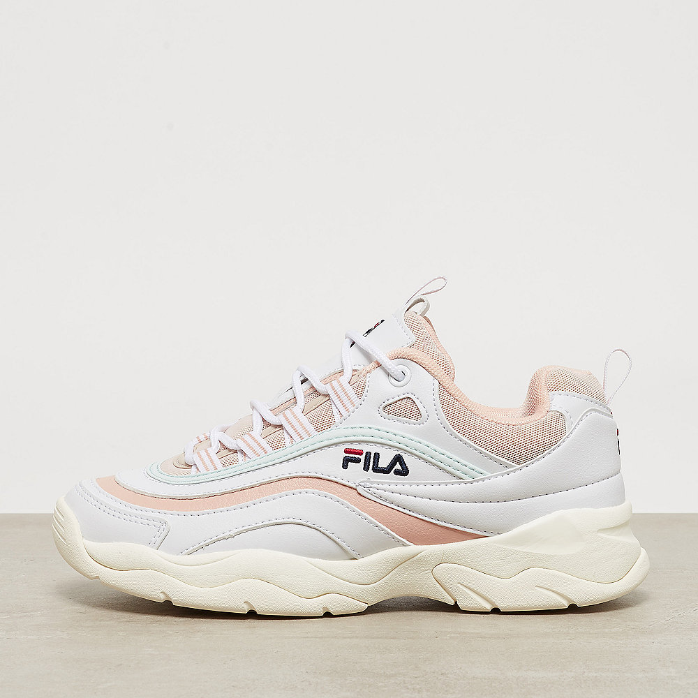 Fila Ray Low Wmn Whitespnsh Villamist Sneaker Onygo