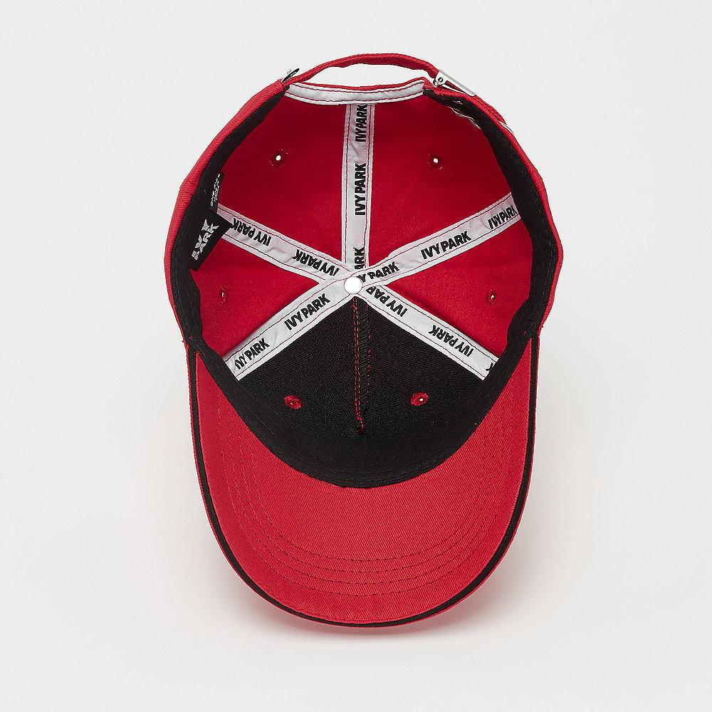 IVY PARK Silicon Logo Bicolour Baseball Cap fiery red