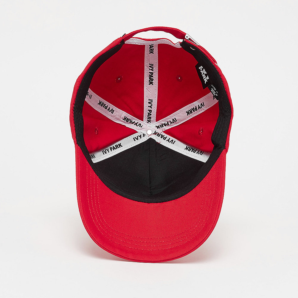 IVY PARK Silicon Logo Baseball Cap fiery red