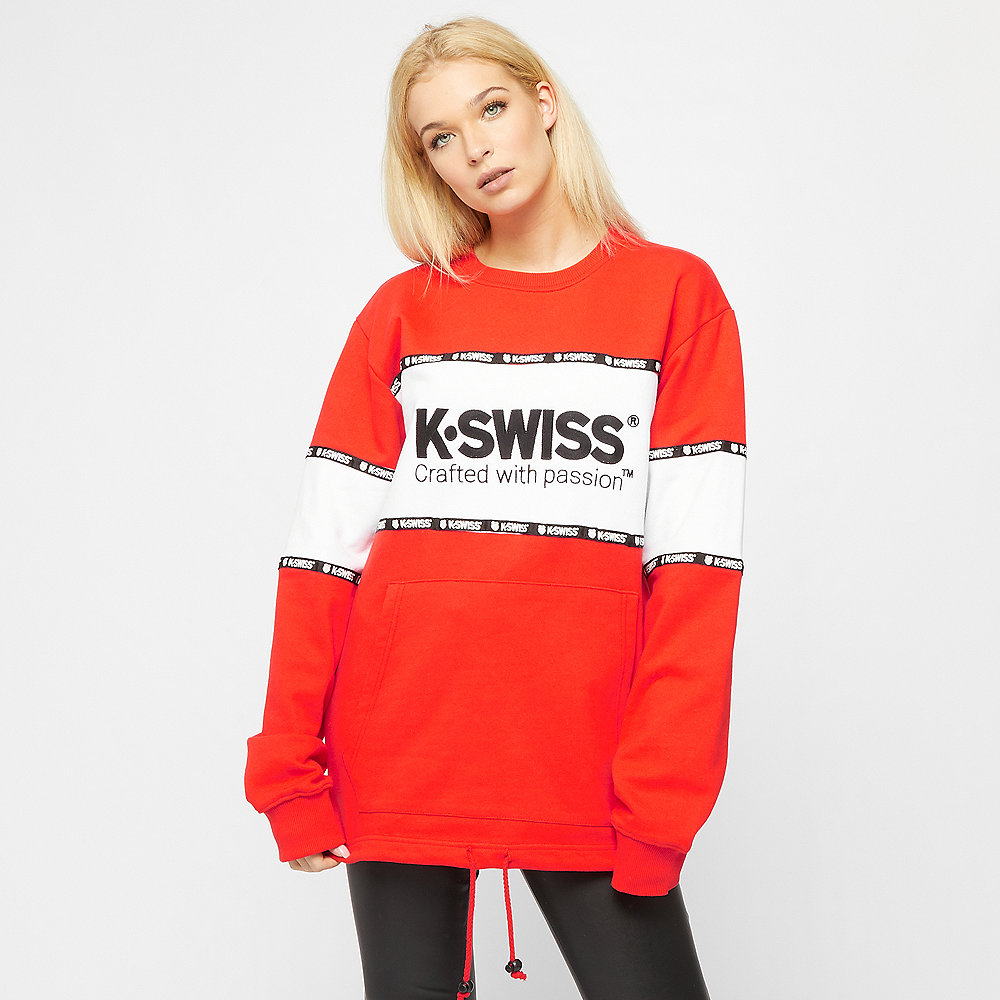 K-Swiss Modesto Oversized red