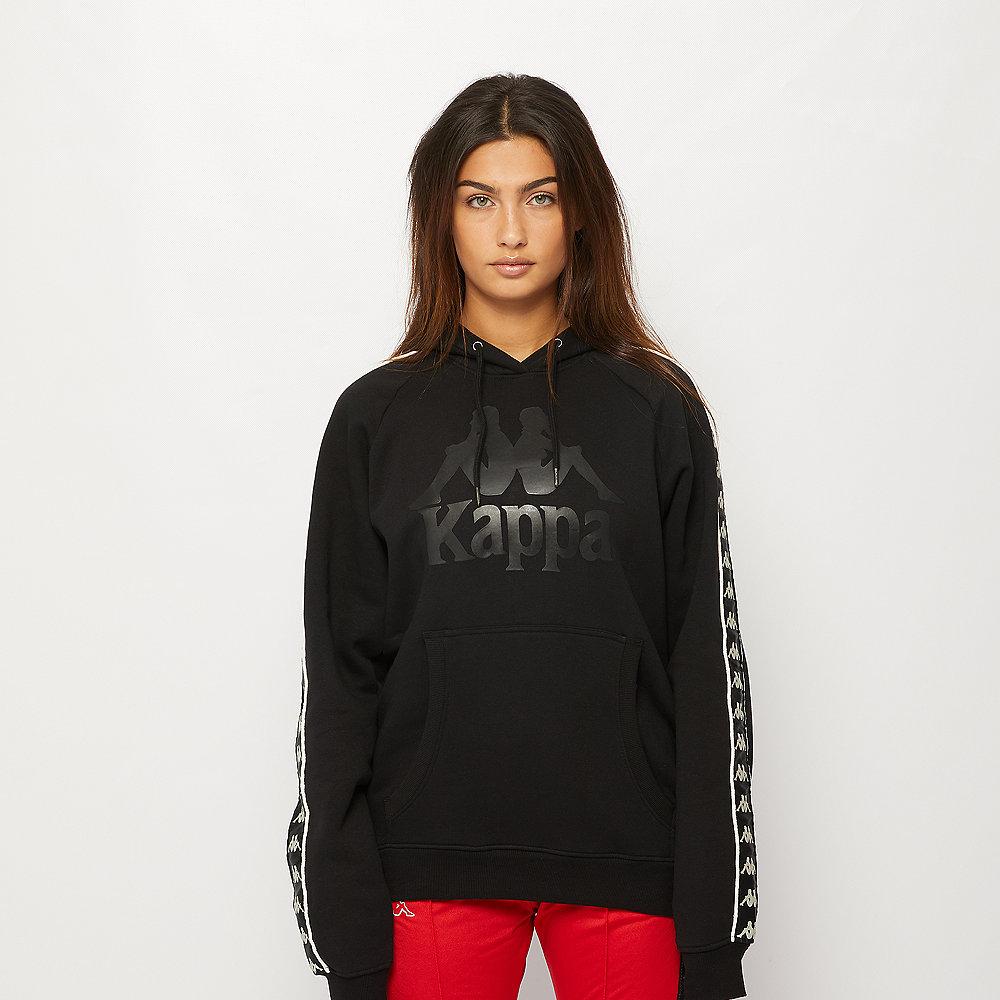 Kappa Damon Hooded Sweatshirt black