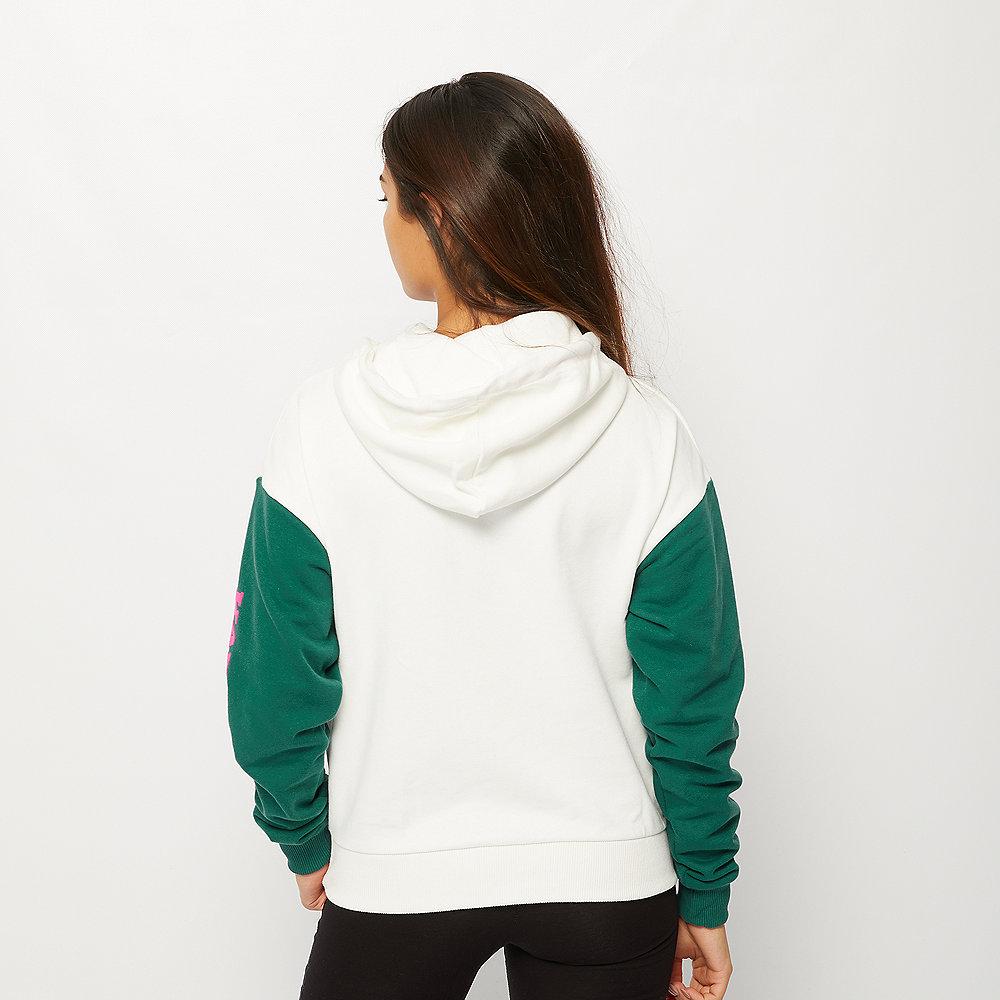 Karl Kani Retro Block Hoodie white/green/pink