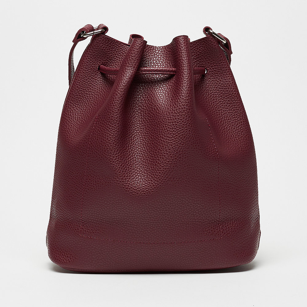 Mae & Ivy Liv Basic Bucket Bag burgundy