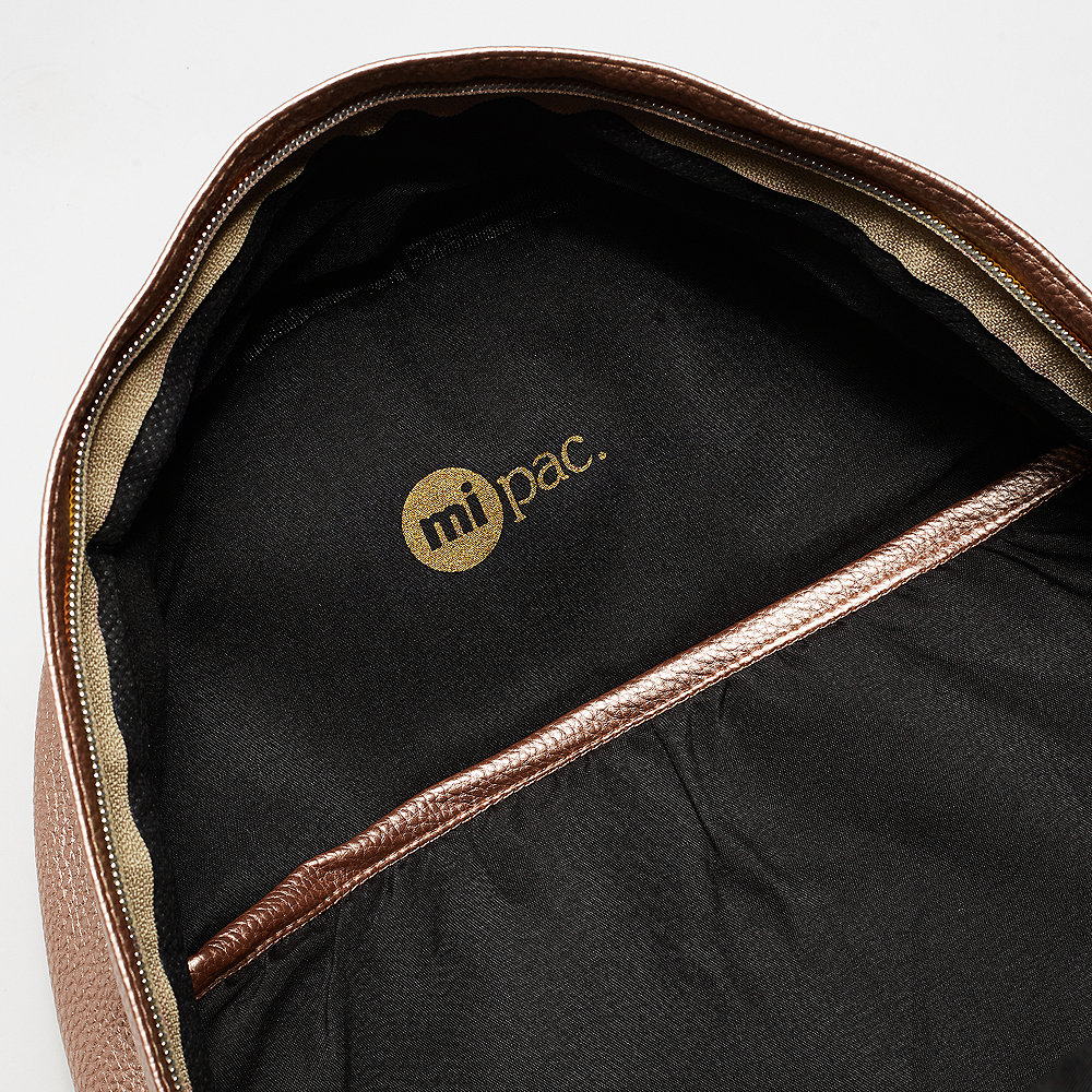 Mi-Pac Gold Backpack tumbled metallic blush