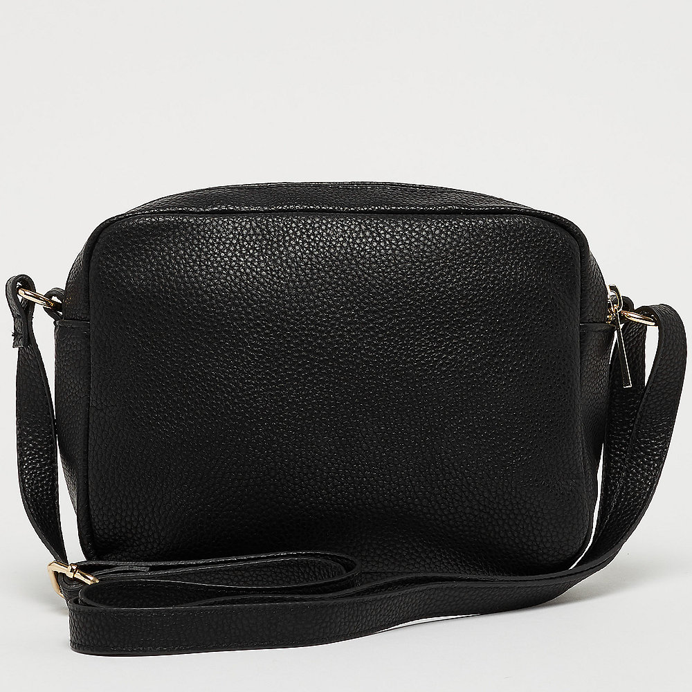 Mi-Pac Gold Cross Body Bag - Tumbled black