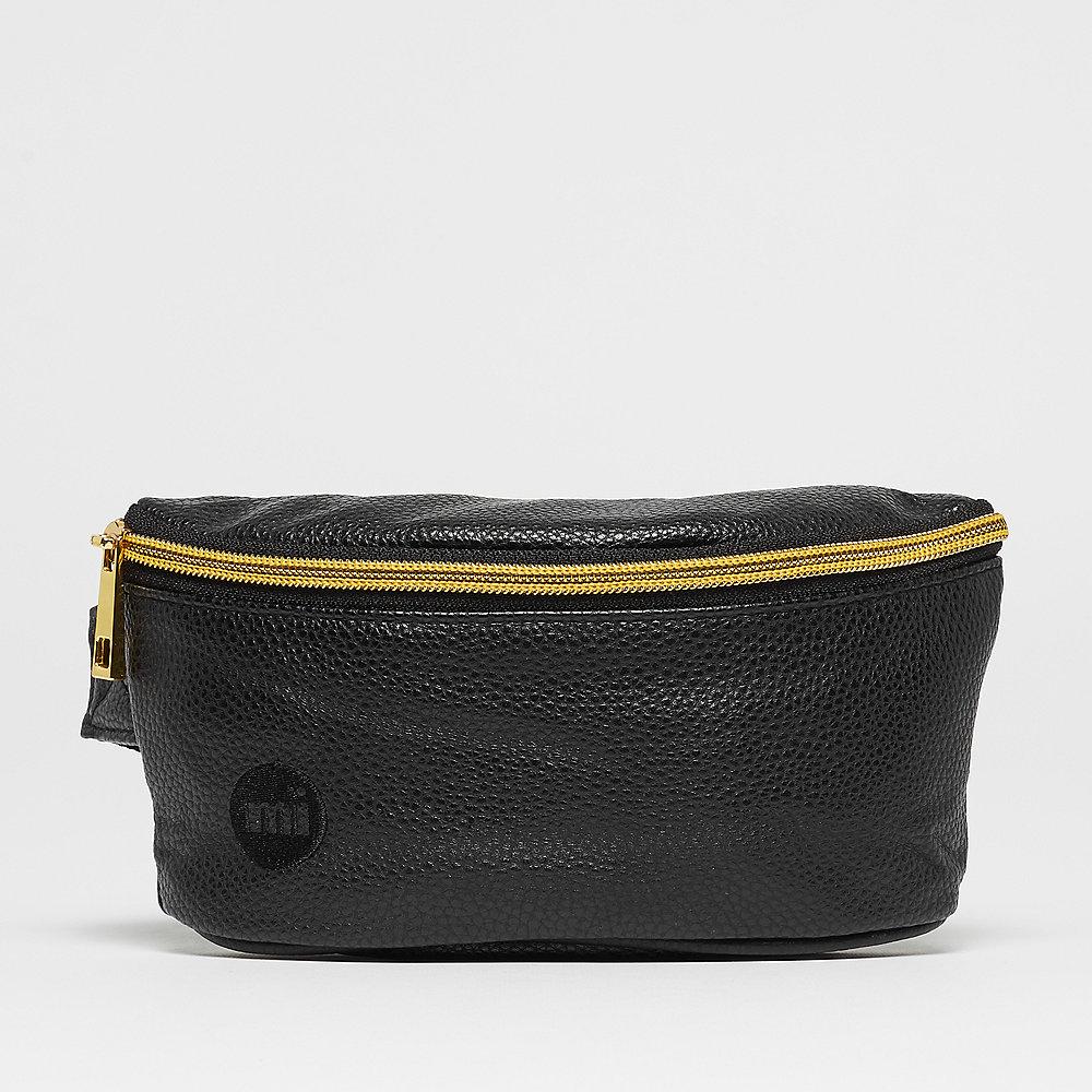 Mi-Pac Gold Slim Bum Bag tumbled black