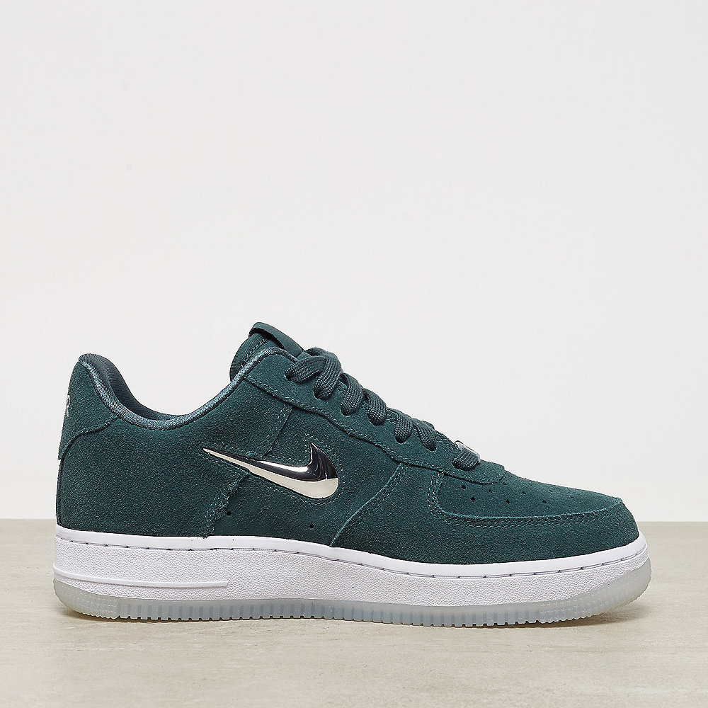 NIKE Air Force 1 '07 Premium LX faded spruce/metallic silver-wht