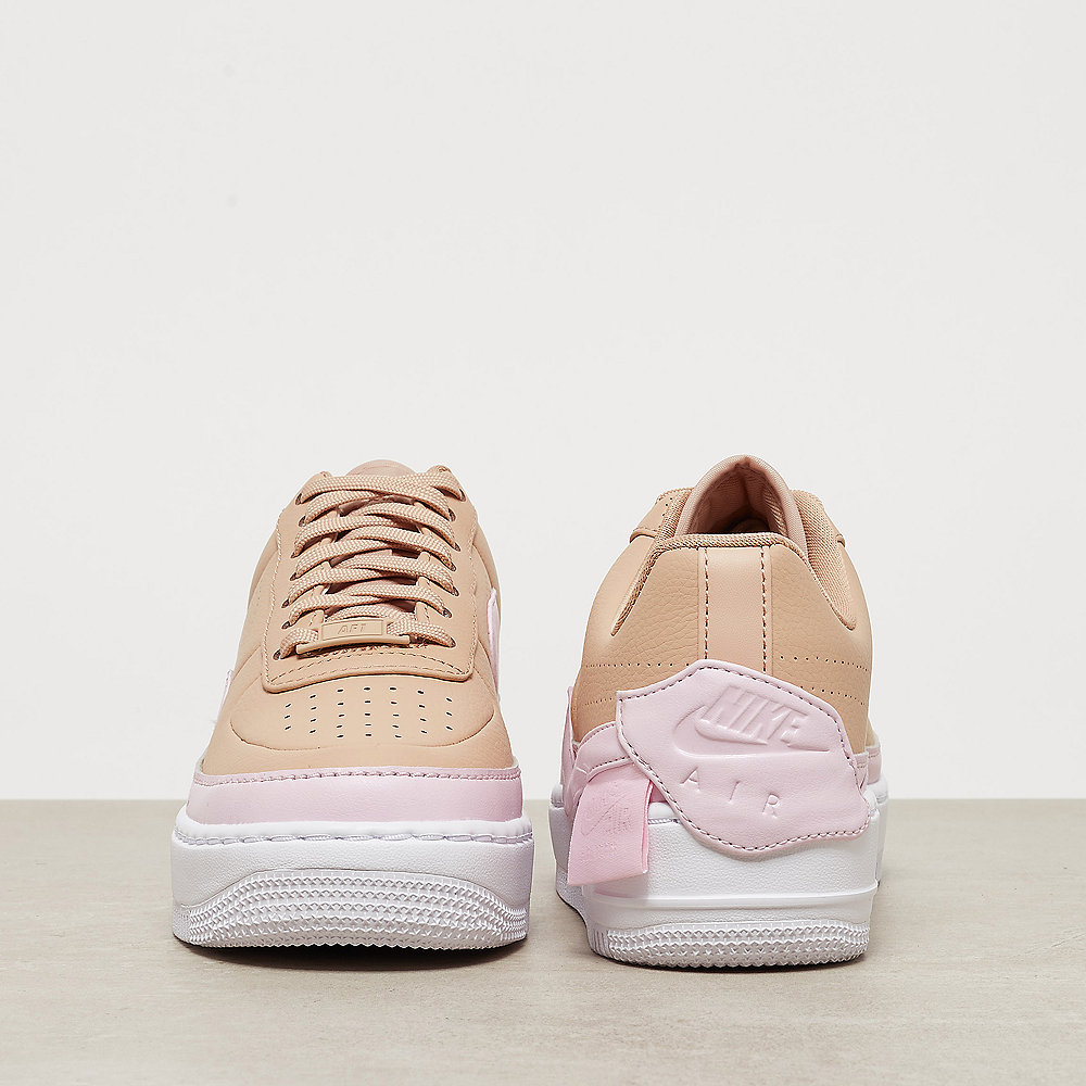 NIKE Air Force 1 Jester XX bio beige/pink force/white